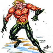 Aquaman Art Print