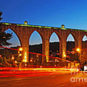 Aqueduct Of The Free Waters Art Print