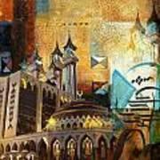 Ar Rehman Islamic Center Art Print