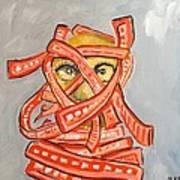 Arab Israelis II  Art Print by Marwan  Khayat