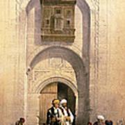 Arabesque Cairo Art Print