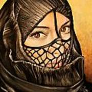 Arabian Girl Art Print