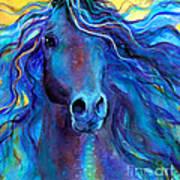 Arabian Horse #3  Art Print