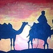 Arabian Sands Art Print