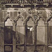 Arabian Windows, In Campo Santa Maria Art Print