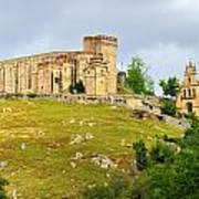 Aracena Castle Sxiii Art Print