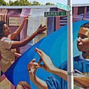 Aramat St Mural Art Print