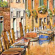 Arancio Sul Canale Art Print