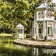 Aranjuez Park Lake Art Print