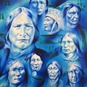 Arapaho Leaders Art Print