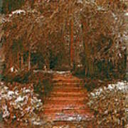 Arbor Steps Art Print