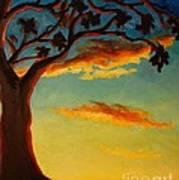 Arbutus Sunrise Art Print