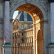 Arc De Triomphe Du Carrousel Art Print