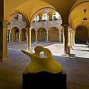 Arcade In Bellinzona Art Print