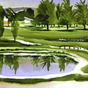 Arcadia Valley Country Club Dramatic Art Print