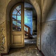 Arch Door Art Print