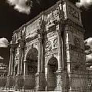 Arch Of Constantine Art Print