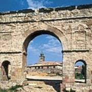 Arch Of Medinaceli. 1st C. Spain Art Print
