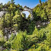 Arch Rock Mackinac Island Michigan Art Print