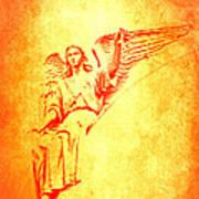Archangel Michael  Art Print by Lali Kacharava