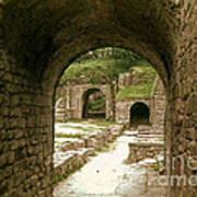 Arched Entrance To Fiesole Theatre Art Print