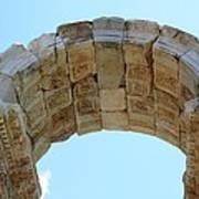 Arched Gate Of The Tetrapylon Art Print