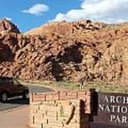 Arches National Park 2 Art Print