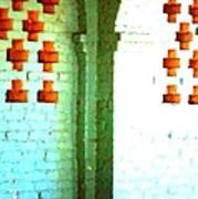 Arches And Crosses New Orleans Louisiana Usa Art Print