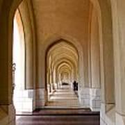 Arches In An Arab Palace  Art Print