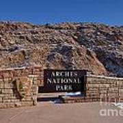 Arches National Park Utah Art Print