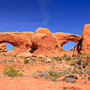 Arches Windows Art Print