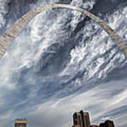 Arching Over St. Louis Art Print