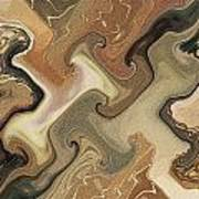 Architechtonic Analysis Of Cortex Detail Art Print