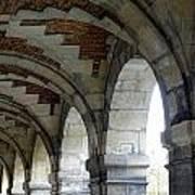 Architectural Artwork At Place De Vosges Art Print