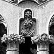 Architectural Detail - Barcelona - Spain Art Print