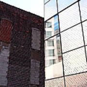 Architectural Juxtaposition On The High Line Art Print