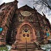 Architecture And Places In The Q.c. Series 01 Trinity Episcopal Church Art Print