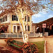 Architecture - Woodstock Vt - Where I Live Art Print