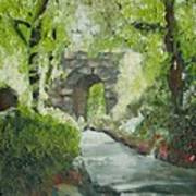 Archway In Central Park Art Print