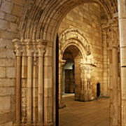 Archways Cloisters Nyc Art Print