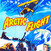 Arctic Flight, Us Poster, From Left Art Print