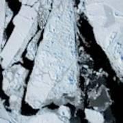 Arctic Sea Ice At Lowest Maximum Art Print