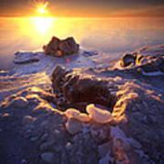 Arctic Sunrise Art Print