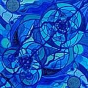 Arcturian Calming Grid Art Print