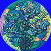 Arcturian Immunity Grid Art Print