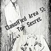 Area 51 Declassified Art Print