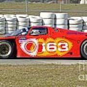 Argo Mazda Gtp Race Car At Sebring Raceway Art Print