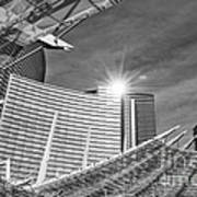 Aria Sun - Aria Resort And Casino At Citycenter In Las Vegas Art Print