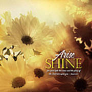 Arise Shine Art Print