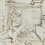 Aristotle And Phyllis Art Print